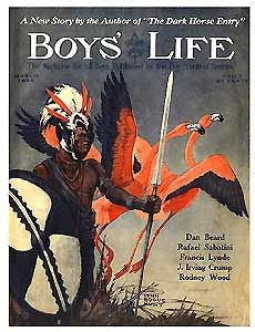 Boys Life, March 1925 Boys Life Magazine, Life Cover, Vintage Magazines, Dark Horse, News Stories, Girl Scouts, Cover Art, Old School, The Darkest