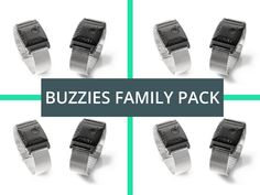 Buzzies Family Pack (4 Devices)