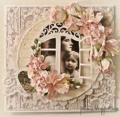Blommor, glitter och kärlek... (Primias Pysselglädje)