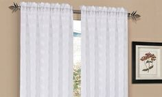 Groupon - One Pair of Window Panels. Multiple Styles from $ 14.99–$16.99. Free Returns. in Online Deal. Groupon deal price: $14.99
