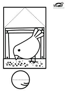 printables for kids - Paper Crafts 🧶 Winter Crafts For Kids, Paper Crafts For Kids, Summer Crafts, Preschool Crafts, Diy For Kids, Fun Crafts, Quiet Time Activities, Preschool Activities, Bird Crafts
