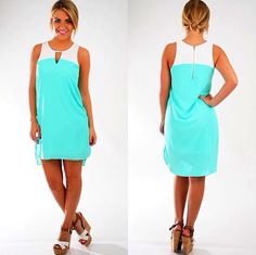 Nice summer dress fresh color