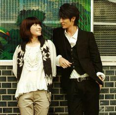 Ueno Juri & Tamaki Hiroshi. GAH, can't take their cuteness. Couple from Jdrama: Nodame Cantabile