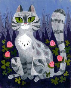 Grey Tabby, Brigette Barrager