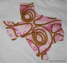 Rodeo and Western Themed Appliques