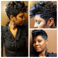 Another cute hair style for me