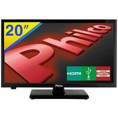 """TV LED 20"""" Philco HD com Receptor Digital Integrado PH20U21D"""