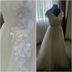 Wedding gown for Debbie. :)