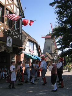 Solvang,Ca. Founded as a village in 1911 by people of Danish descent in the style of architecture used in Denmark. Sausalito California, California Love, Santa Barbara County, Family Road Trips, My Heritage, Iowa, Denmark, Places Ive Been, Travel Destinations