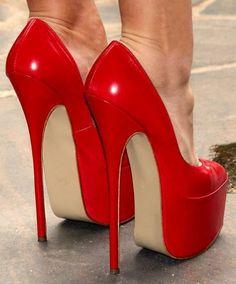 goddesstasha: holiday red 16.010 Goddess Tasha Only High Heels #shoeshighheelsstilettos