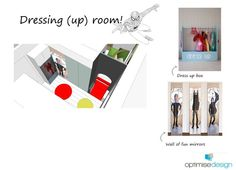 dressing room inspiration sheet Dress Up Boxes, Cool Mirrors, Episode 3, Dressing Room, Doctors, Room Inspiration, Fun, Design, Walk In Closet