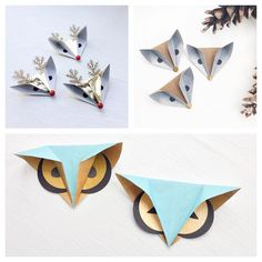 Foxes, reindeer and owls oh my!