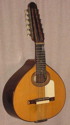 Bandurria de Marcelo Barbero de 1932, Madrid