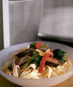 Orange Beef and Broccoli Stir-Fry from realsimple.com #myplate #protein #vegetables