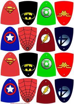 DIY Personalized Superhero Cape Party Favor Tags