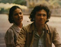 Christine Hakim and Roy Marten in Badai Pasti Berlalu 1977  #actor #actress #indonesia #film