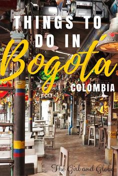 Bogota Colombia travel is full of surprises. Here is a good guide to get you started on the things to do in Bogota.but Bogota things to do aren't just museums and historical sites. Trip To Colombia, Colombia Travel, Ecuador, South America Destinations, South America Travel, Backpacking South America, Ushuaia, Machu Picchu, Travel Guides