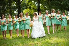Mint Green Wedding