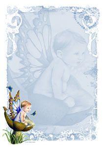 Digital Download - Stationery - Little Boy Blue by Selina Fenech