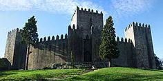 Guimarães Castle - Guimarães , in the District of Braga , Portugal