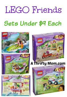 LEGO Friends Set Under 9 Bucks Each