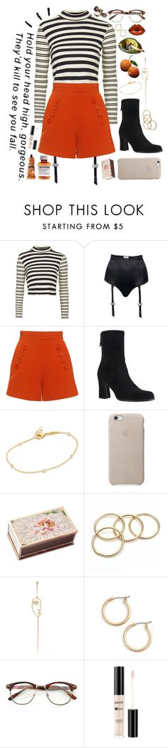 """♥We ain't kids no more♥"" by katherinethecat ❤ liked on Polyvore featuring Topshop, I.D. SARRIERI, Finders Keepers, Yves Saint Laurent, Jacquie Aiche, Shandell's, Sarah & Sebastian, Nordstrom, NYX and Aesop"