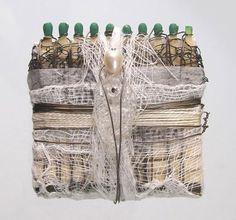 "Galit Einav -  Every woman is One of a Kind - אך ישנן נשים שהן ""לא"". הן שקופות, נסחרות, חסרות ונועדו לשימוש בלבד. בפרויקט של 1500 גפרורים ויותר אציג מידי יום גפרור אחד למענן. קחו שנייה ביום. לא חייבים ""להשתמש ולזרוק"".  no.689 ""Une seconde par jour"" Textiles, Projects, Women, Textile Jewelry, Log Projects, Blue Prints, Fabrics, Textile Art, Woman"