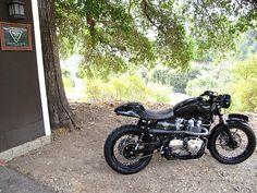 """Super Bonnie"" by Canyon Motorcycles #triumph #scrambler #bonneville"