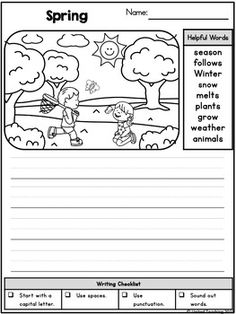 Writing Prompts for March by United Teaching Writing Prompts For Kids, Picture Writing Prompts, Cool Writing, Writing Lessons, Kids Writing, Writing Activities, Writing Practice, Picture Story Writing, Writing Pictures