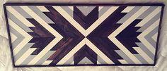 Arte de madera reciclada colgante de pared