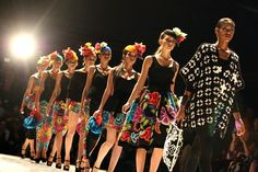Peruvian Fashion on the Rise: Meche Correa, Mercedes Benz Fashion Week, Madrid,16 September 2013.