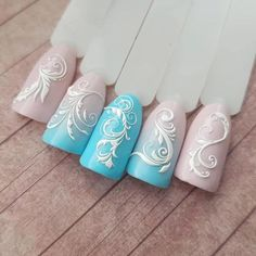let's take a look at the 80 Awesome Acrylic Almond Nails Designs we have collected for you. They are very useful for almond nails. Foil Nails, 3d Nails, Pink Nails, Acrylic Nails, Perfect Nails, Gorgeous Nails, Nail Art Arabesque, Nail Stencils, Almond Nails Designs