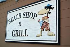 Beach Shop & Grill at Topsail Beach, NC