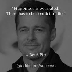 Brad Pitt is one of the most iconic actors living today. From humble origins, here are some of his best pieces of insight of life. Brad Pitt Quotes, Goal Quotes, Picture Quotes, Affiliate Marketing, Philosophy, Insight, Messages, Motivation, Feelings