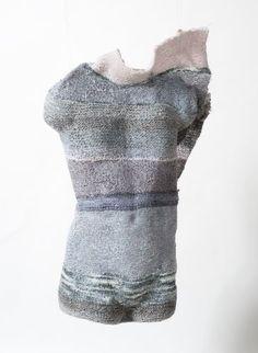 my knitted sculpture - Stephan - VCE ART FINAL #knitted #sculpture