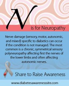 N is for Neuropathy