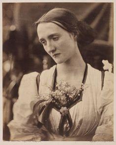 Mrs Herbert Fisher by Julia Margaret Cameron 1868