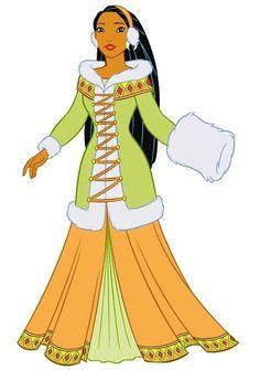 Disney Princesses Pocahontas   Moda Pocahontas Outono- Inverno 2010-2011: 4 modelos