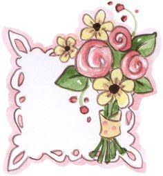 Little Sentiments Floral Bouquets, Yoshi, Decoupage, Clip Art, Invitations, Cool Stuff, Cards, Fictional Characters, Frames