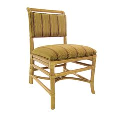 Chatham Side Chair. Rattan, from Walters Wicker Interior Collection.