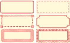 Una Cosa Piccola: lovely  free printable lables from poppytalk