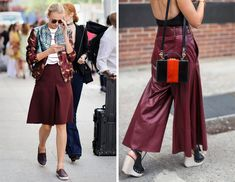 Burgundy is the new hot color for fall. It has officially replaced navy, and is seen almost everywhere. part of its huge appeal is its versatility. this article about the different ways it can be worn and a variety of products are shown, including accessories and shoes. - Taylor Beach
