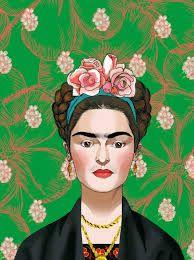 Resultado de imagen para frida kahlo dibujos animados                                                                                                                                                      Más