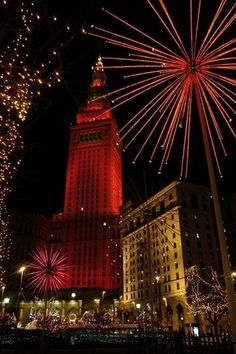 Cleveland Ohio - Tower City - First Saturday After Thanksgiving