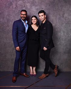 ffdb717bd747c Bollywood star couple, Ajay Devgn and Kajol, is all set to sip an unusual  cup of  Koffee  with Karan Johar.