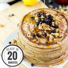Authentic Vegan Banana Pancakes #pancakes #banana #vegan   hurrythefoodup.com