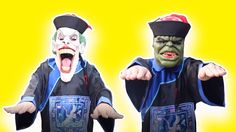 Superheroes vs Zombie China Attack! w/Zombie Spidergirl, Zombie Joker, Z...