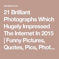 21 Brilliant Photographs Which Hugely Impressed The Internet In 2015 | Funny Pictures, Quotes, Pics, Photos, Images. Videos of Really Very Cute animals.