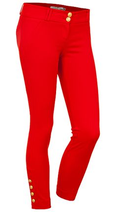 SKINNY PANT W/ BUTTONS | Dynamite.ca