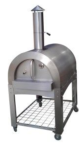 stainless steel portable wood fired pizza oven